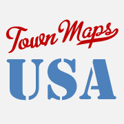 Maps of Cities and Towns of US by TownMapsUSA.com