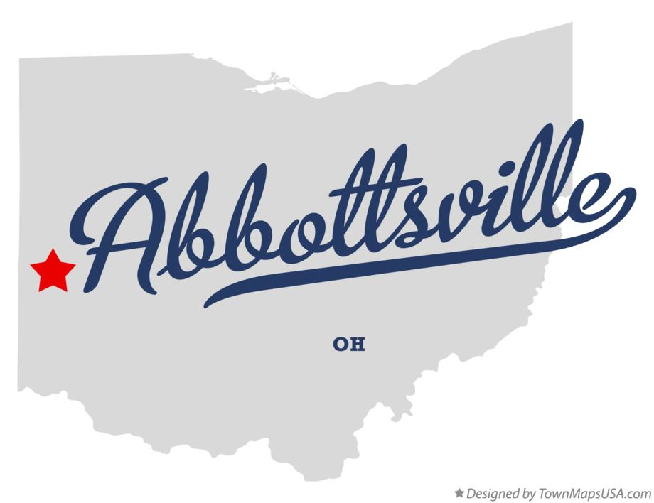 Map of Abbottsville Ohio OH
