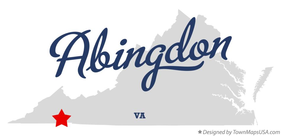 Map of Abingdon, VA, Virginia