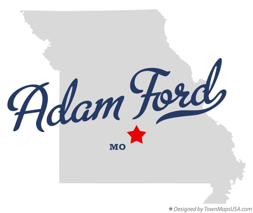 Map of Adam Ford Missouri MO