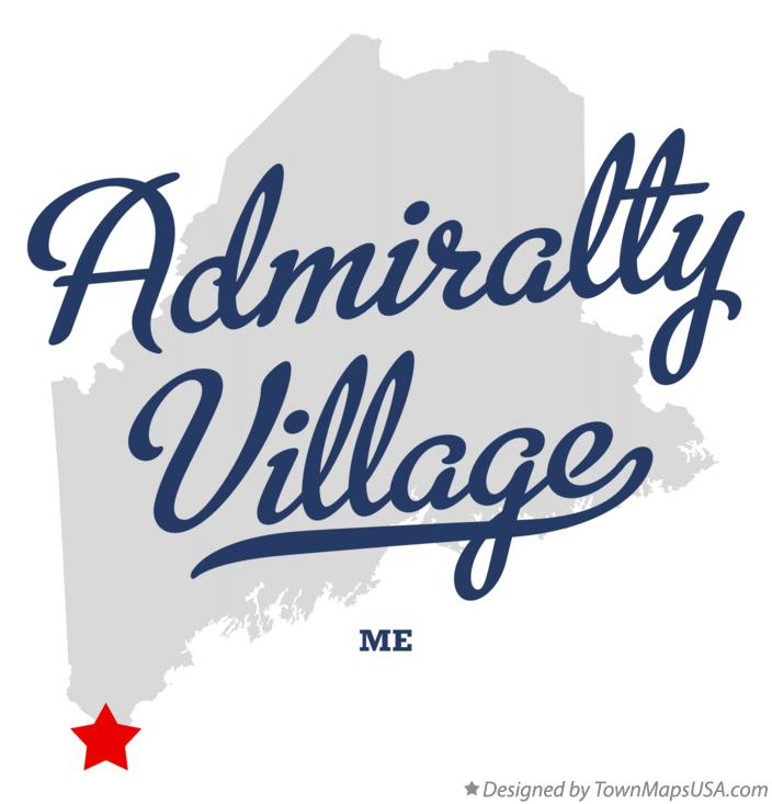 Map of Admiralty Village Maine ME