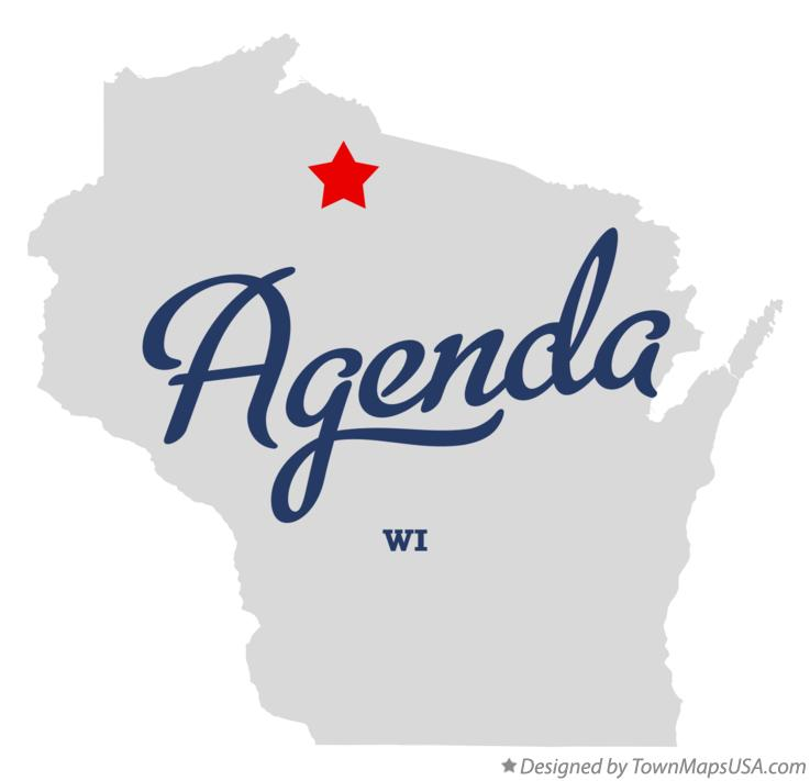 Map of Agenda Wisconsin WI