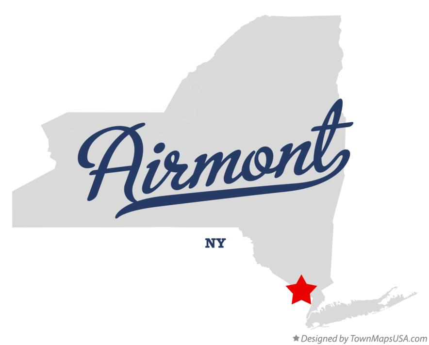 Map of Airmont New York NY