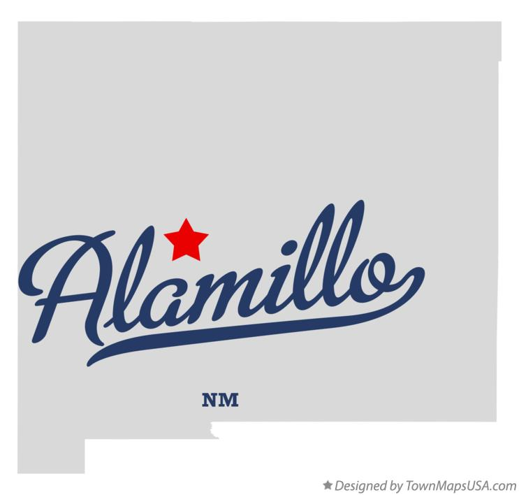 Map of Alamillo New Mexico NM