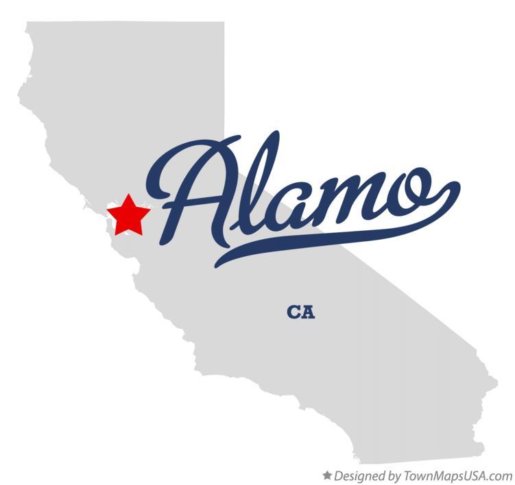 Map of Alamo, CA, California