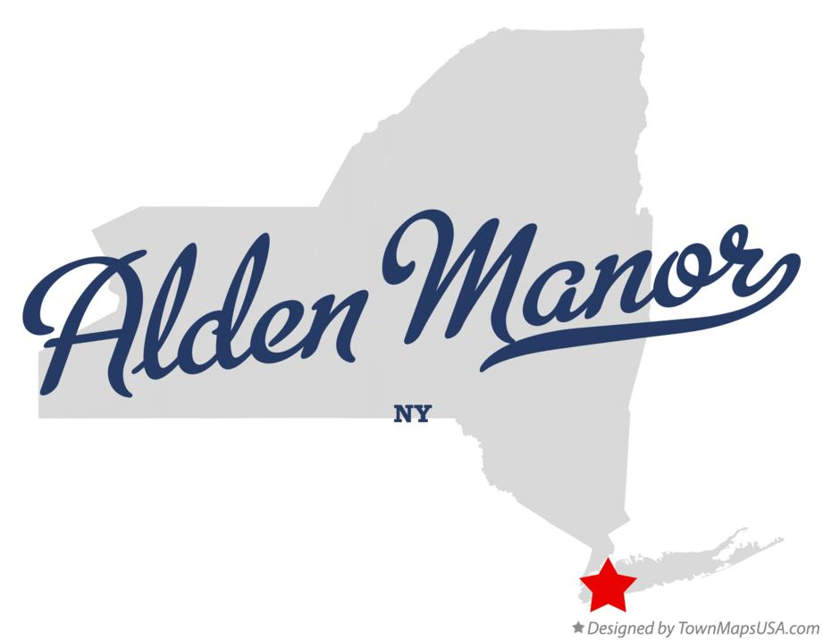 Map of Alden Manor New York NY