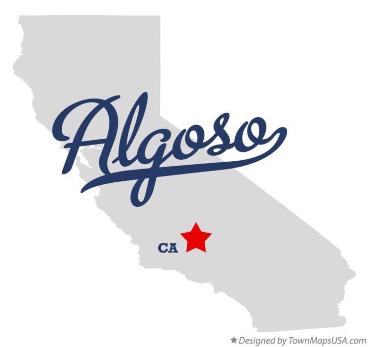 Map of Algoso California CA