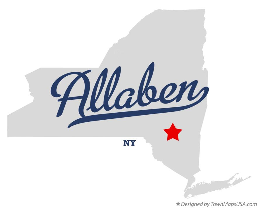 Map of Allaben New York NY