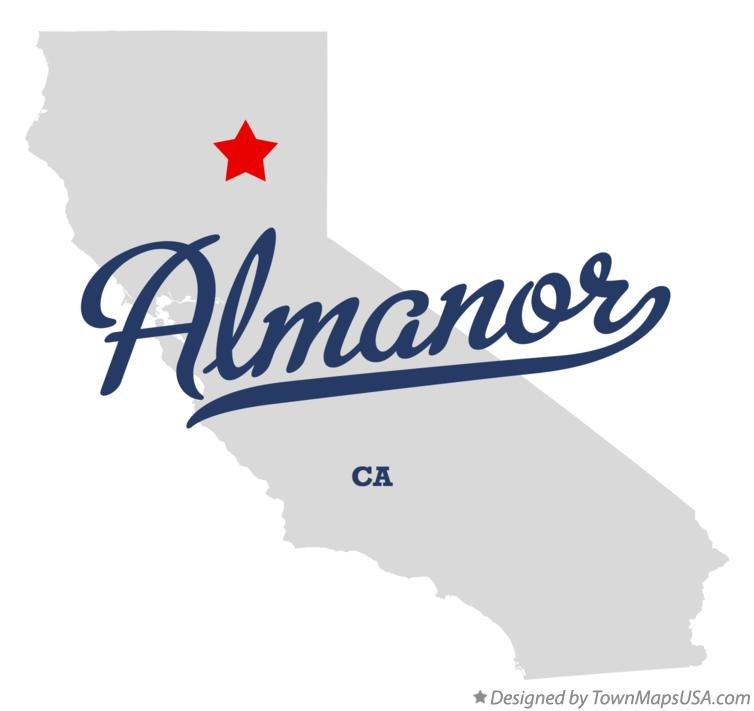 Map of Almanor California CA