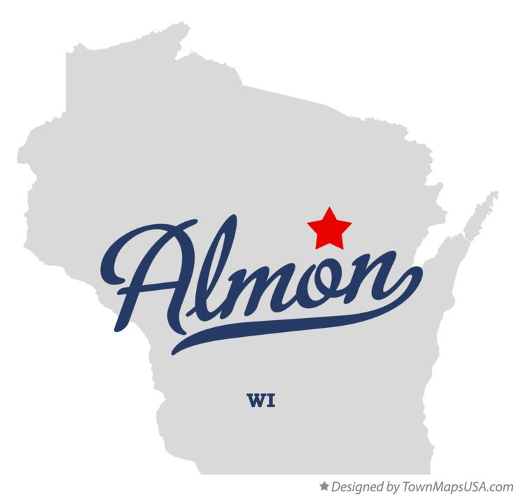 Map of Almon Wisconsin WI