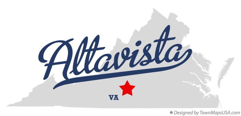Altavista (VA) United States  city pictures gallery : Map of Altavista, VA, Virginia