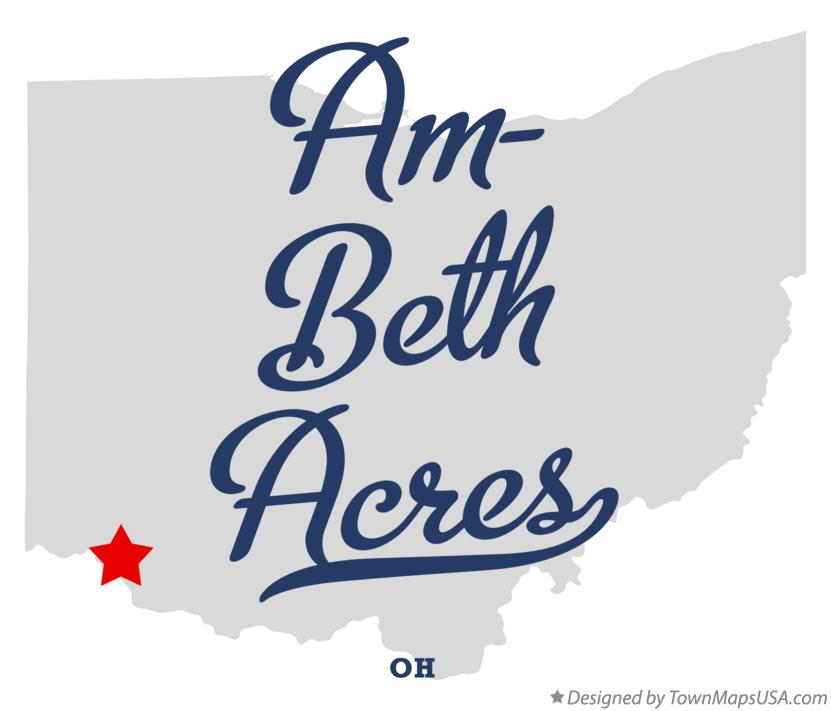 Map of Am-Beth Acres Ohio OH