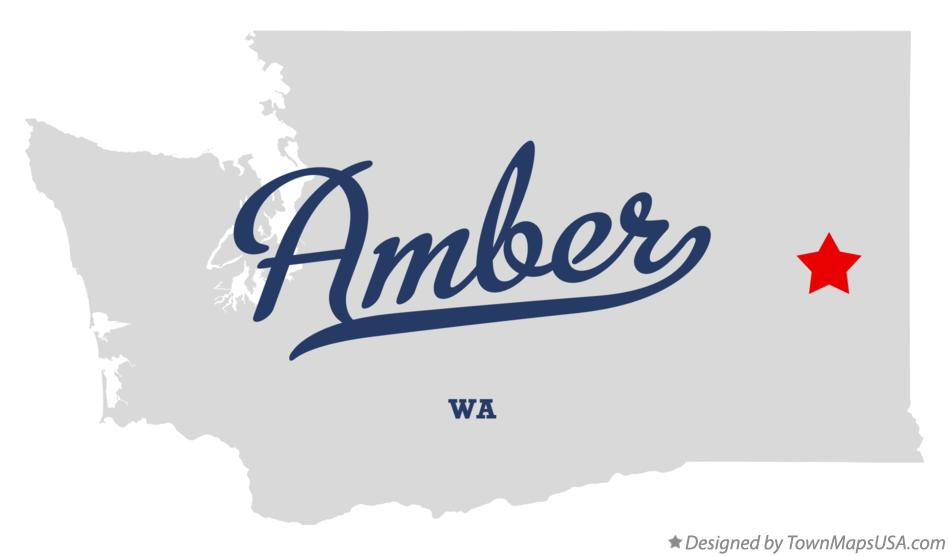 Map of Amber Washington WA