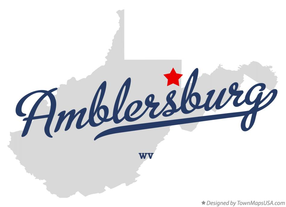 Map of Amblersburg West Virginia WV