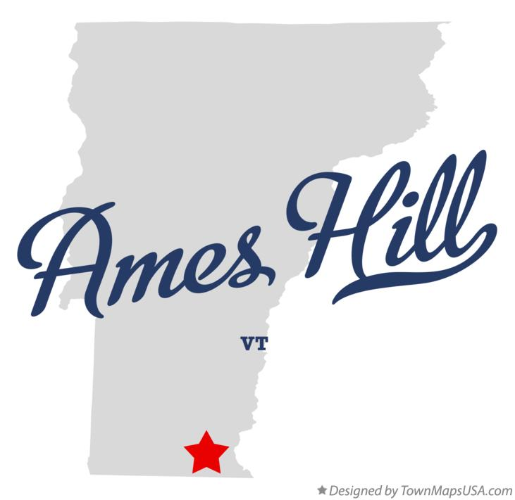 Map of Ames Hill Vermont VT