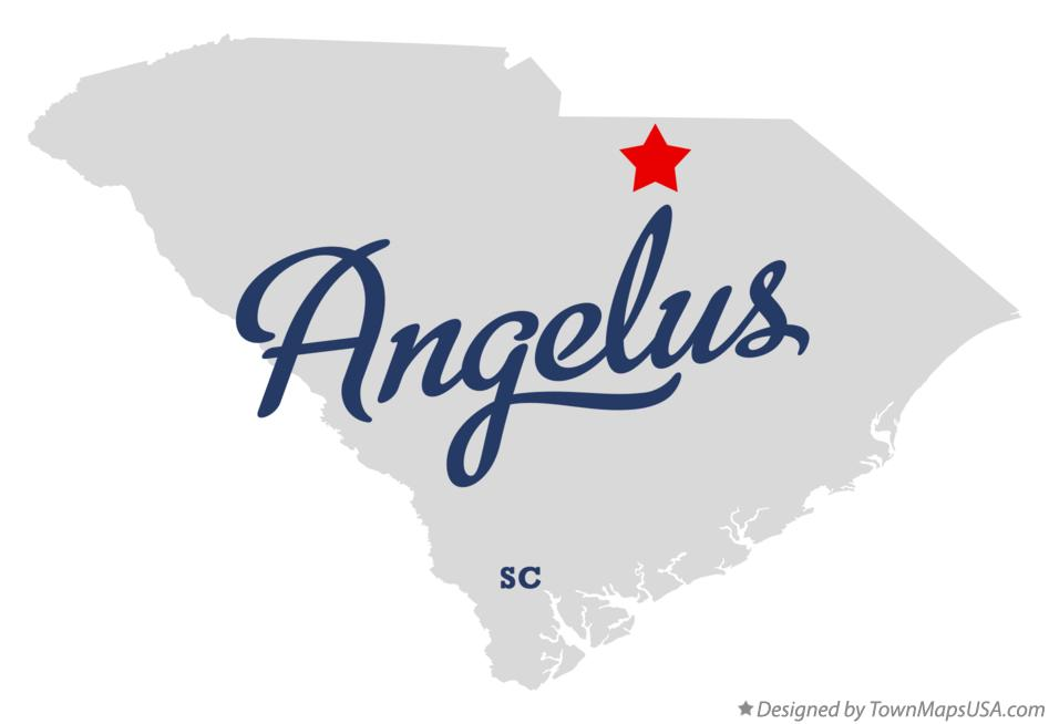 Map of Angelus South Carolina SC