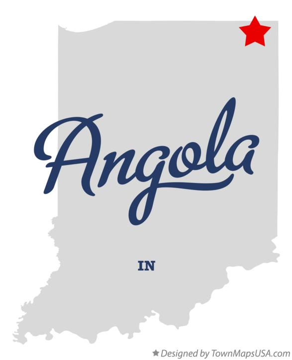 Http Townmapsusa Com D Map Of Angola Indiana In Angola In