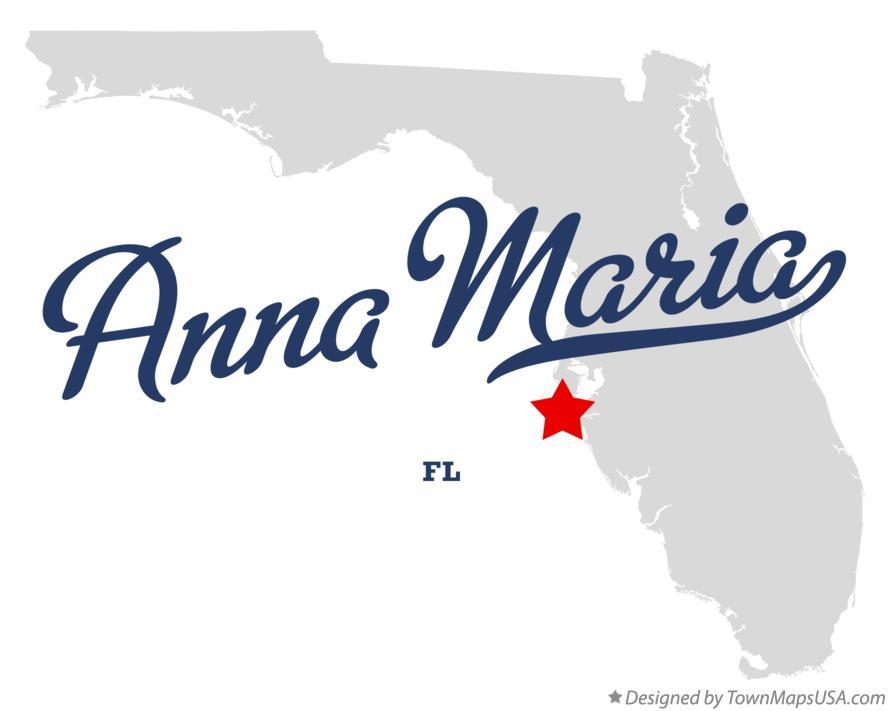 Map Of Anna Maria Island Florida.Map Of Anna Maria Fl Florida
