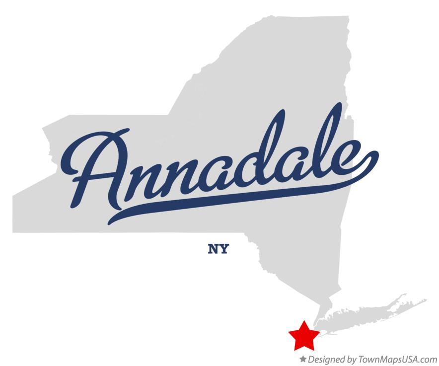 Map of Annadale New York NY