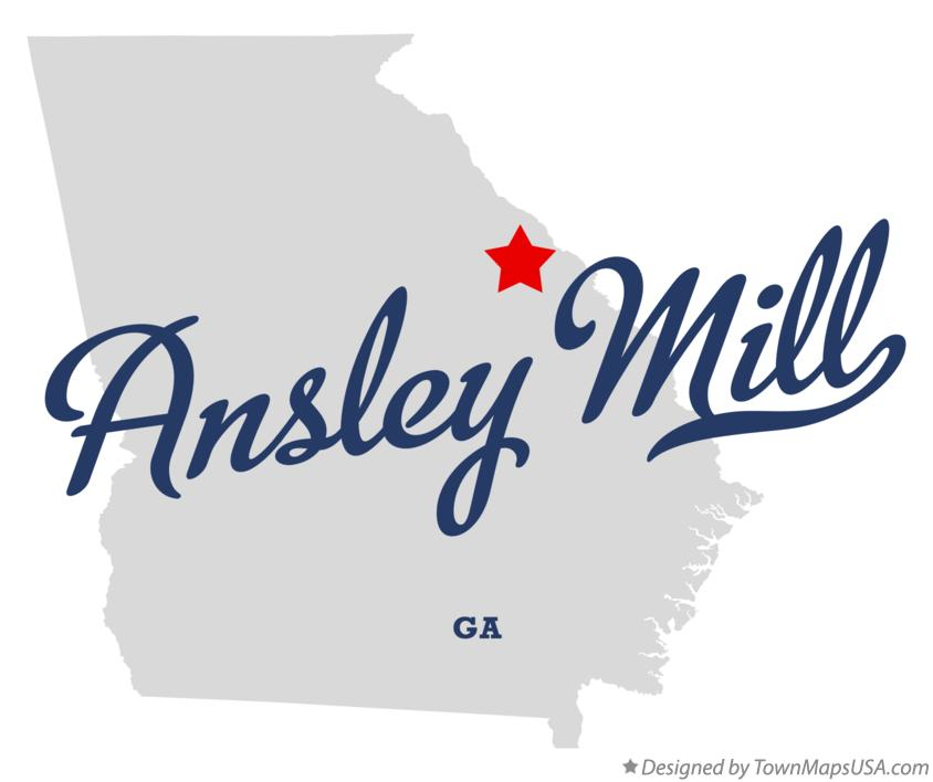 Map of Ansley Mill Georgia GA