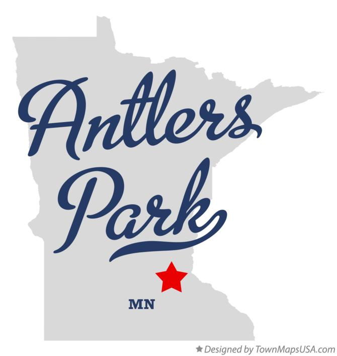 Map of Antlers Park Minnesota MN