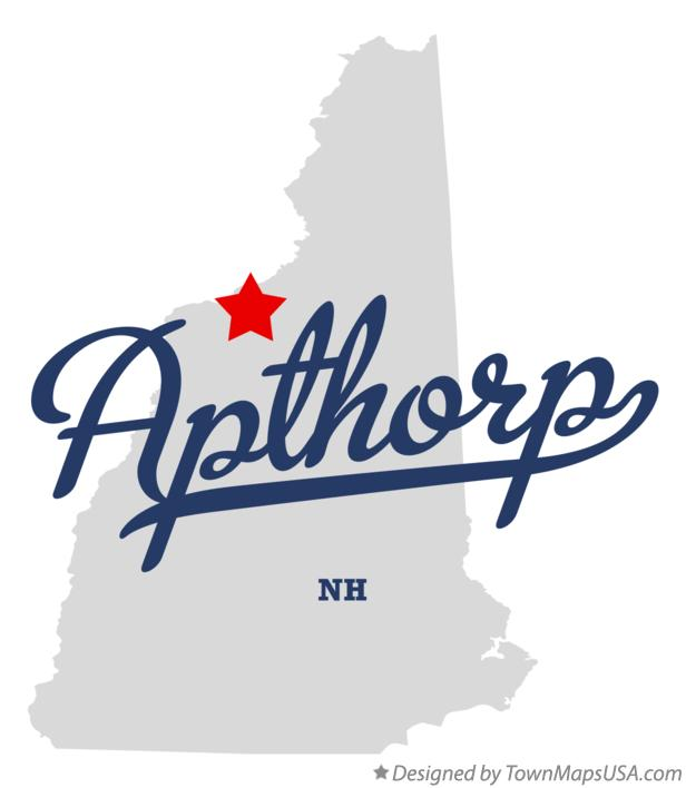 Map of Apthorp New Hampshire NH