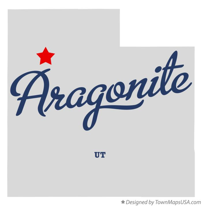 Map of Aragonite Utah UT