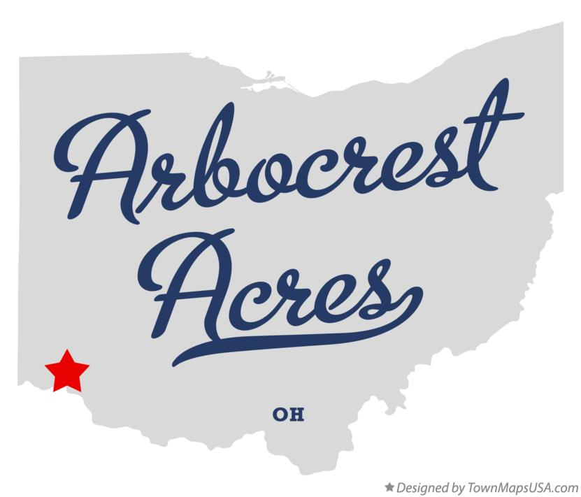 Map of Arbocrest Acres Ohio OH