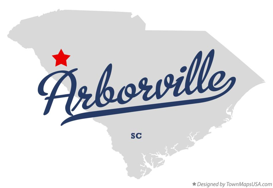 Map of Arborville South Carolina SC