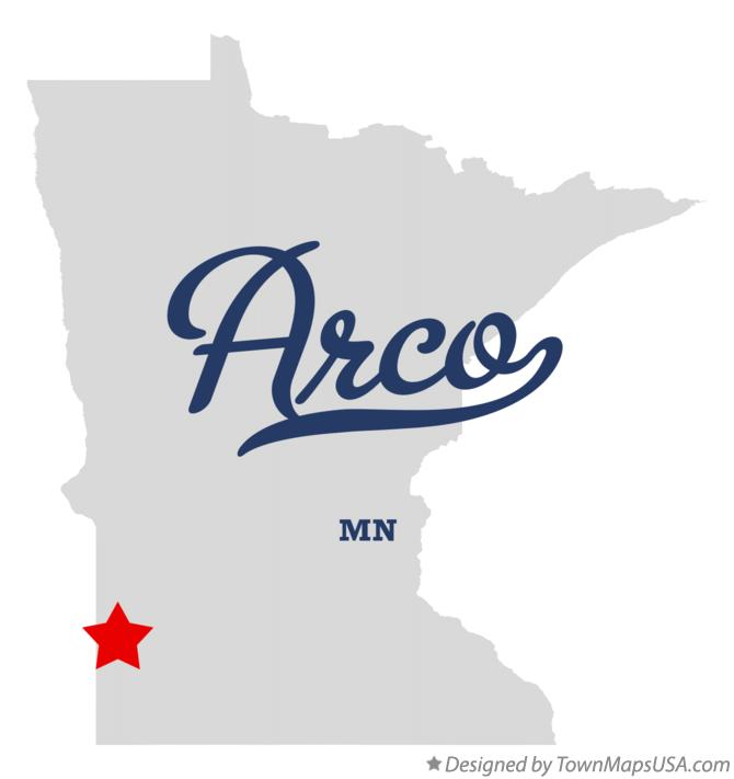 Map of Arco Minnesota MN
