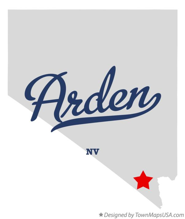 Map of Arden Nevada NV