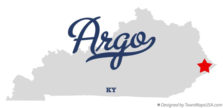 Map of Argo Kentucky KY