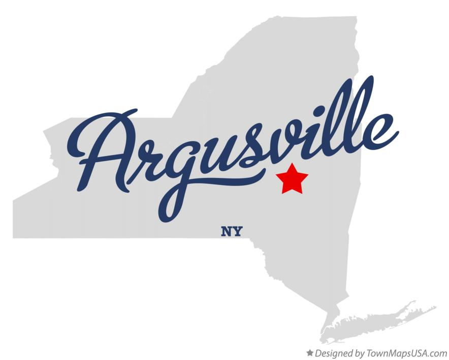 Map of Argusville New York NY