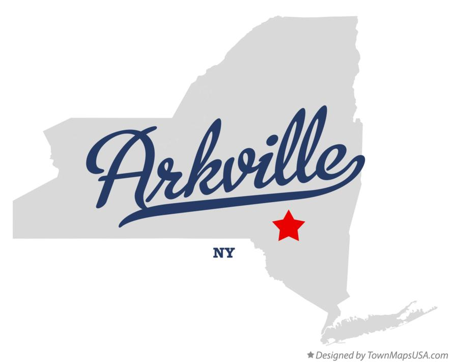 Map of Arkville New York NY