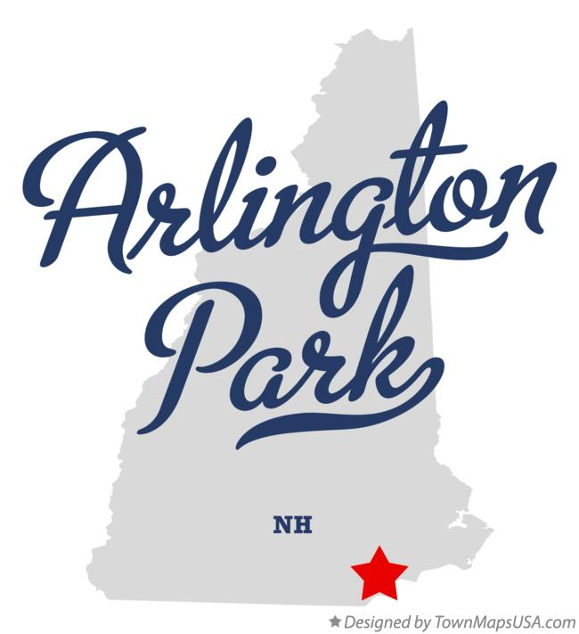 Map of Arlington Park New Hampshire NH