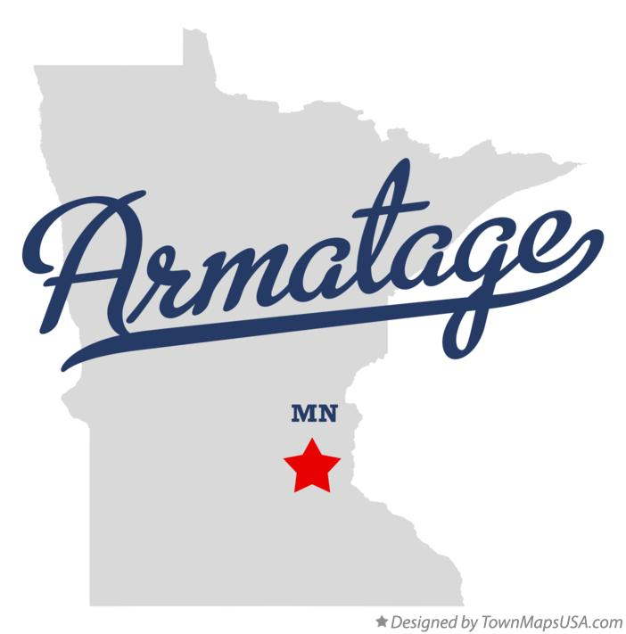 Map of Armatage Minnesota MN
