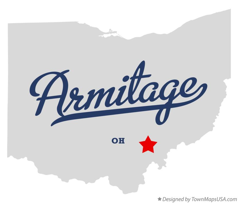 Map of Armitage Ohio OH
