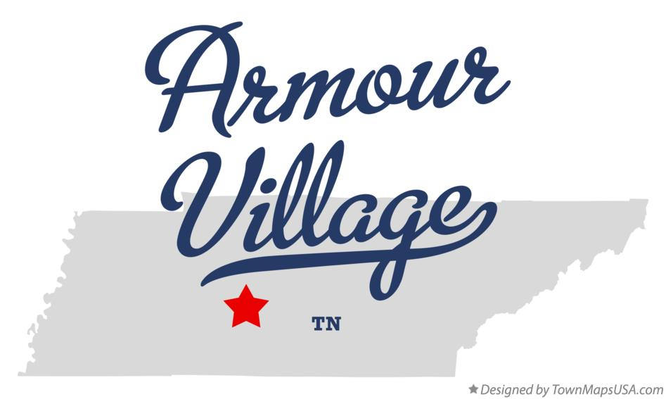 Map of Armour Village Tennessee TN