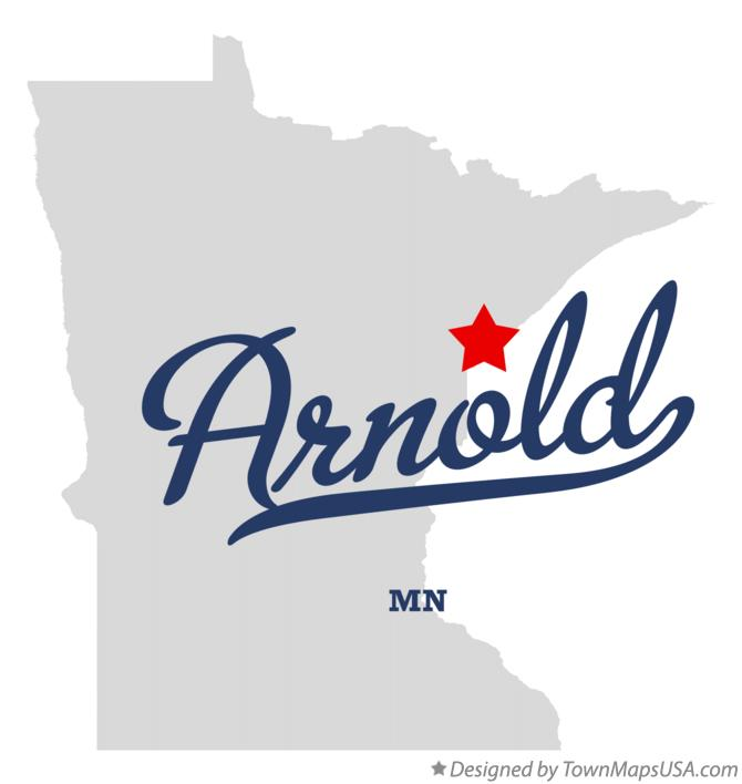 Map of Arnold Minnesota MN