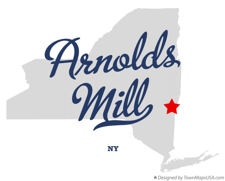 Map of Arnolds Mill New York NY