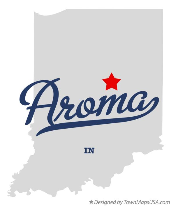 Map of Aroma Indiana IN