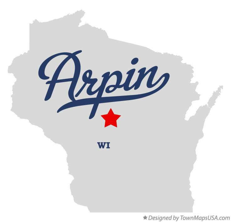 Map of Arpin Wisconsin WI