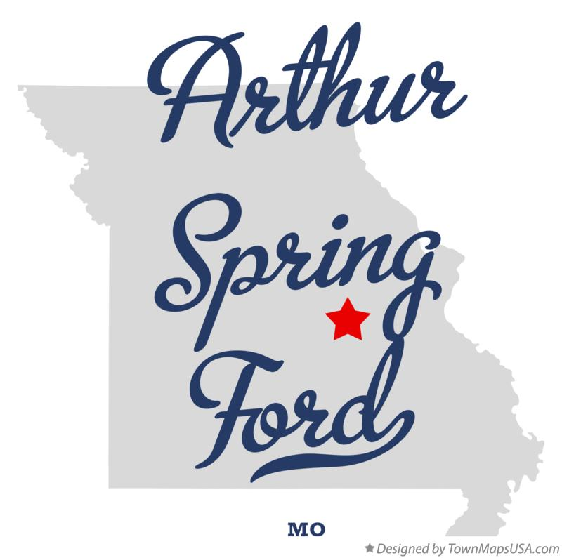 Map of Arthur Spring Ford Missouri MO