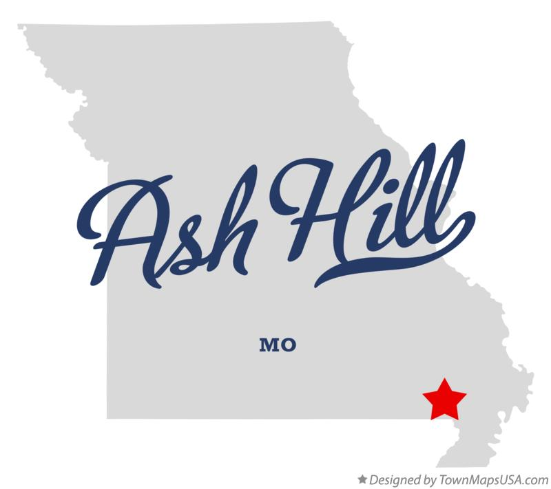 Map of Ash Hill Missouri MO