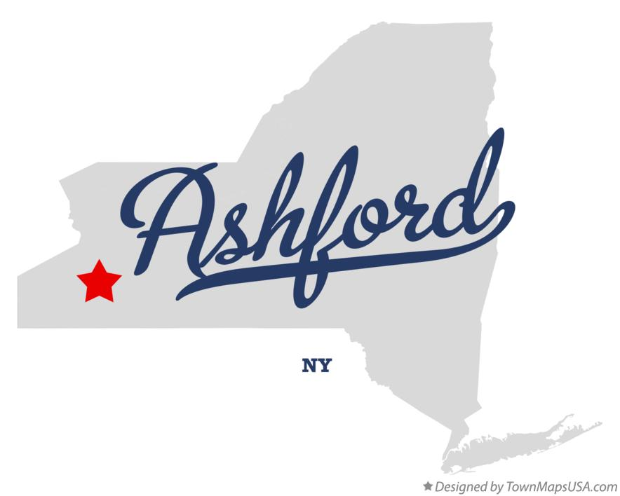 Map of Ashford New York NY