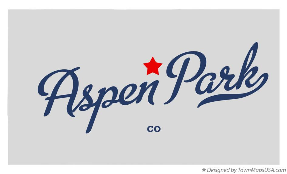 Map of Aspen Park Colorado CO