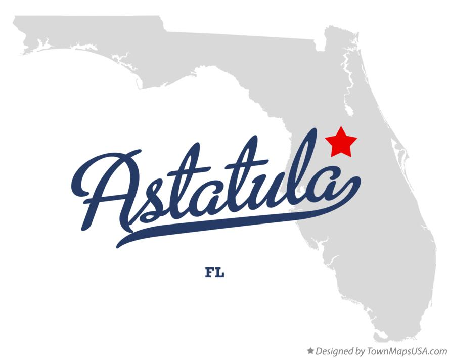 Map of Astatula Florida FL