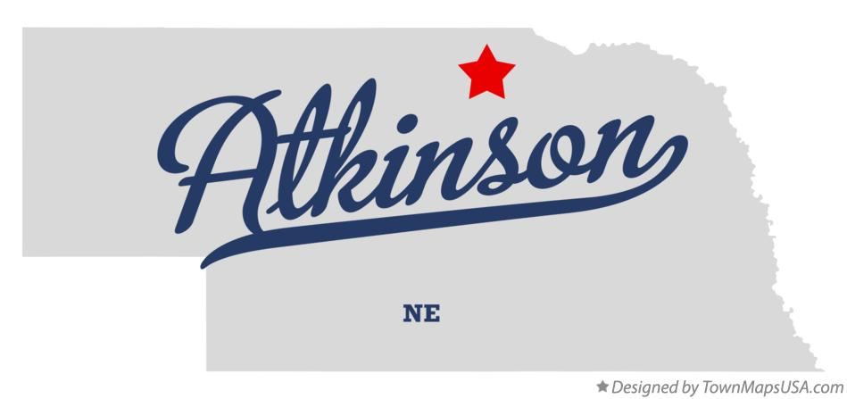 Map of Atkinson Nebraska NE