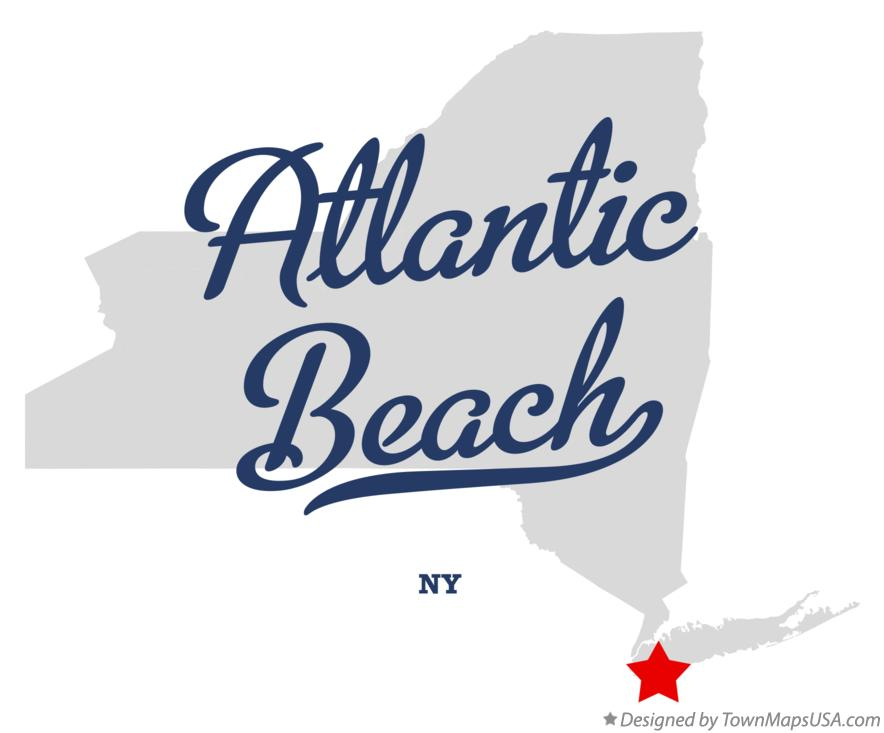Map of Atlantic Beach New York NY