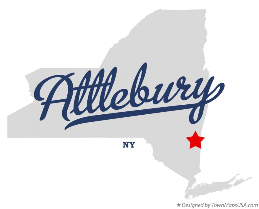 Map of Attlebury New York NY